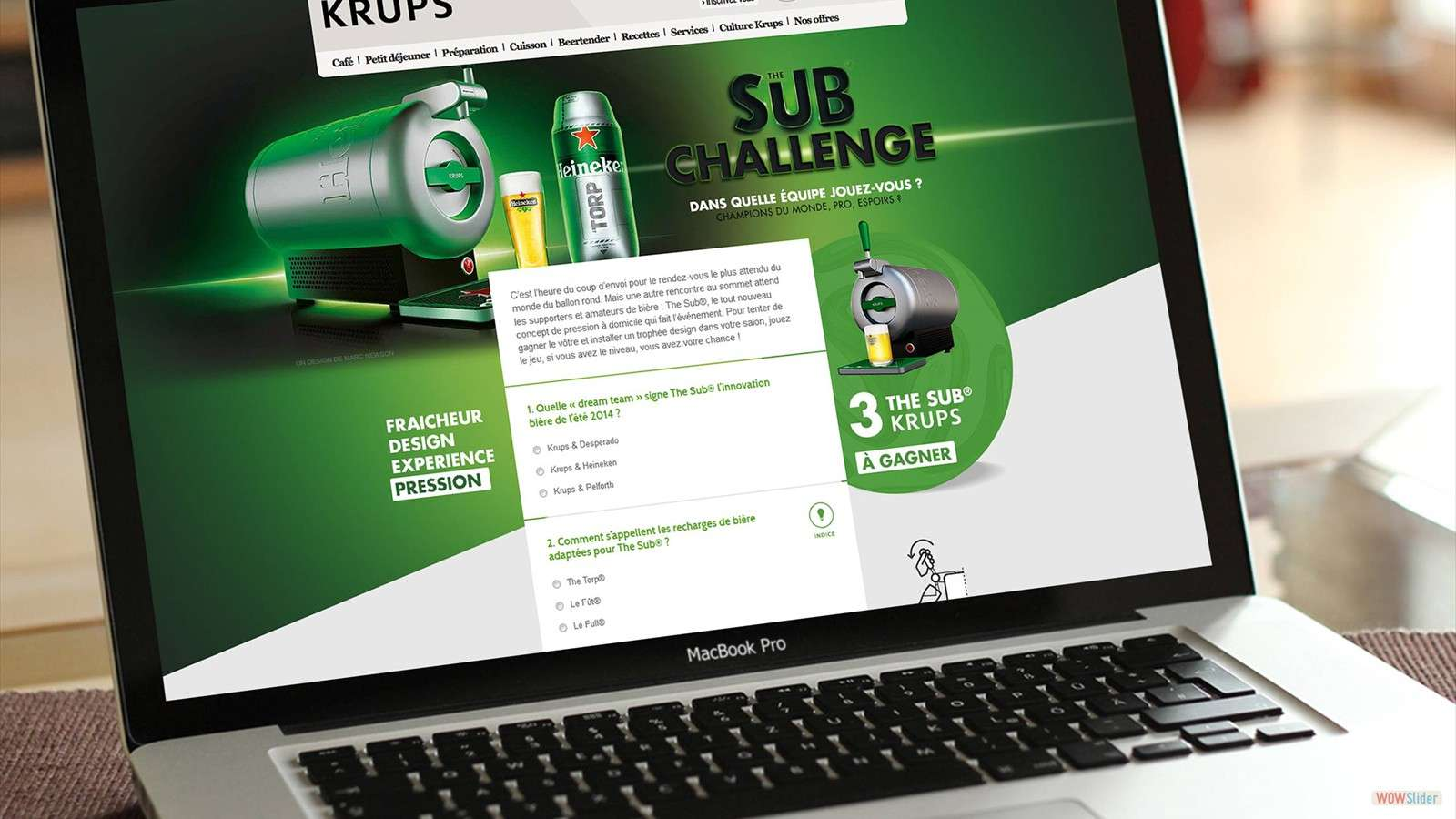 Krups - The Sub Challenge